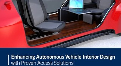Enhancing Autonomous Vehicle Interior Design with Proven Access Solutions