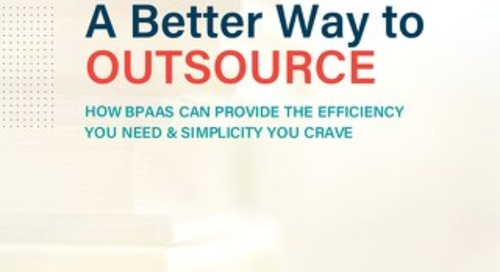BPAAS - A Better Way to Outsource