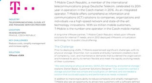 Case Study: VMWare x T-Mobile Czech Republic