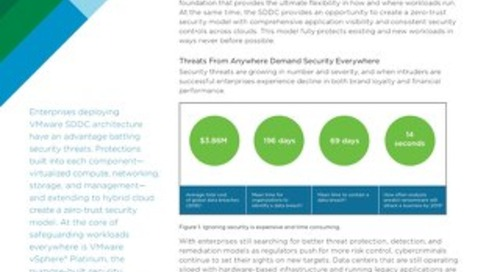 VMware SDDC Security