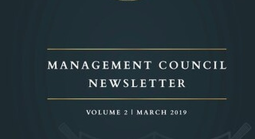 Killarney Golf Club - Management Council Newsletter