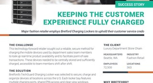 Memorable Customer Service Experiences Thanks to Always Charged Mobile Devices