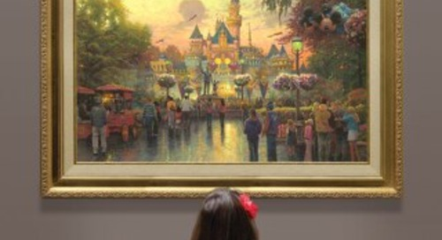2013 Thomas Kinkade Artwork