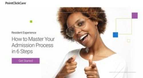 How to Master Your Admission Process in 6 Steps