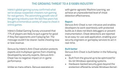 Datasheet: Anti-Cheat