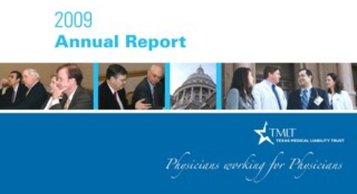 TMLT Annual Report 2009