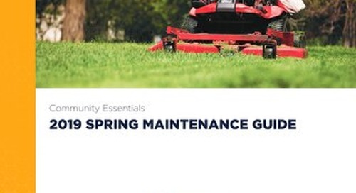 2019 Spring Maintenance Guide