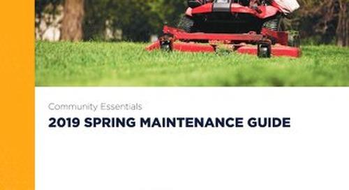 2019 Spring Maintenance Guide