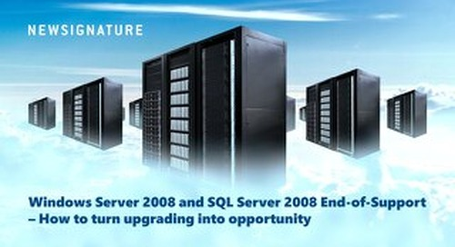 Windows Server and SQL 2008 End of Support Guide 2019