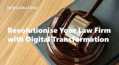 Revolutionise your Law Firm Guide UK 2019
