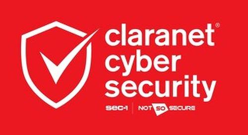 Claranet | Cyber Security Brochure