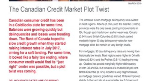 Whitepaper: The Canadian Credit Market Plot Twist - March 2019