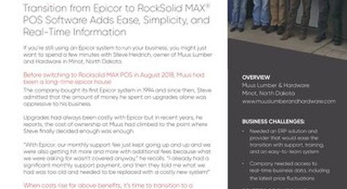 Muus Lumber & Hardware: RockSolid MAX Success Story