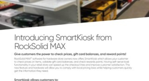 RockSolid MAX SmartKiosk