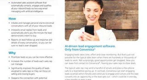 Lead Engagement Software - Conversica Datasheet