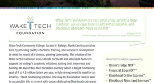 Wake Tech Foundation