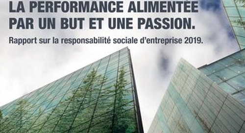 2019 Corporate Social Responsibility Report (CSR) - FR