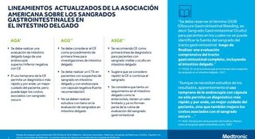 LINEAMIENTOS DE LA ASOCIACION - SANGRADOS GASTROINTESTINALES EN INTESTINO DELGADO