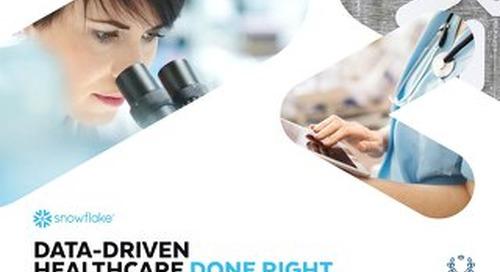 Data Driven Healthcare