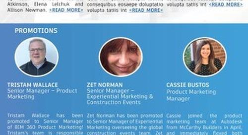 [VIDEO] Alli Announces Construction Marketing Team Changes