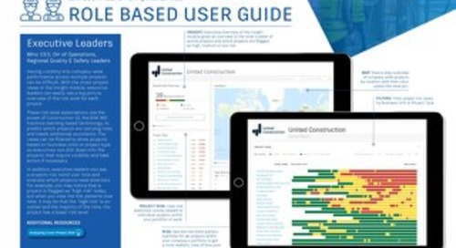 BIM 360 Prediction & Analytics User Guide - Executive Leader