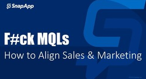 Moving Beyond the MQL - Strategies to Improve Marketing & Sales Alignment