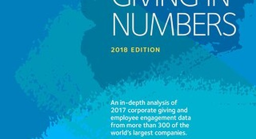 Giving in Numbers 2018