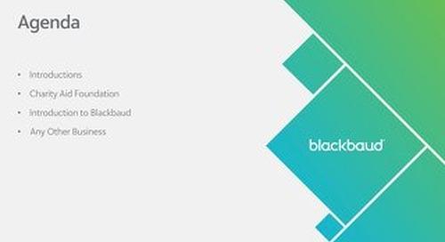 Blackbaud Corporate