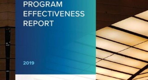 2019 Ethics and Compliance Program Effectiveness Report