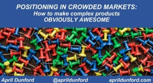 Obviously Awesome - Using Positioning to Break Through in Noisy Markets