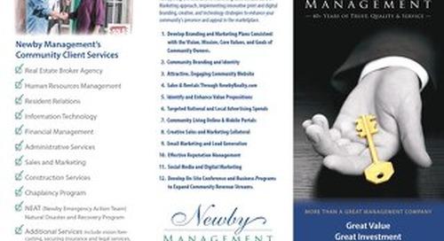 Newby Management Brochure 2019