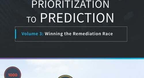 Prioritization To Prediction - Winning the Remediation Race