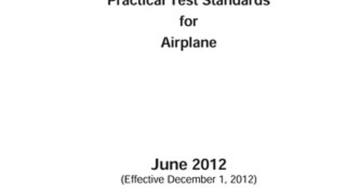 PTS CFI CFII Practical Test Standards