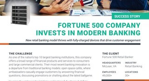 Fortune 500 Retail Bank Drives Customer Engagement with Mobile Devices