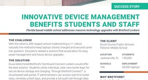 20th Largest School District Keeps Students' Mobile Devices Charged and Secured