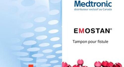 EMOSTAN® Tampon pour fistule