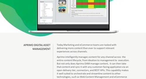 Aprimo Digital Asset Management + Rights Cloud by FADEL