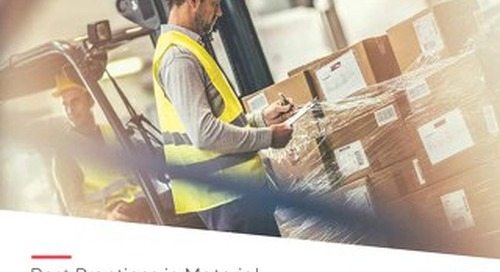 Best Practices for Material & Inventory Management in Manufacturing