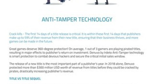 Datasheet: Anti-Tamper