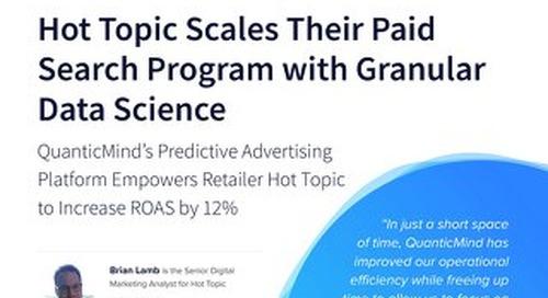 QuanticMind Customer Success Story - Hot Topic