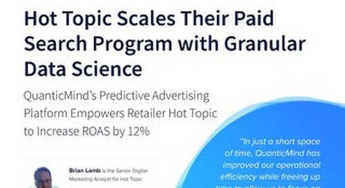 Hot Topic Improved ROAS and Saved Time For Strategic Growth with QuanticMind [Case Study]