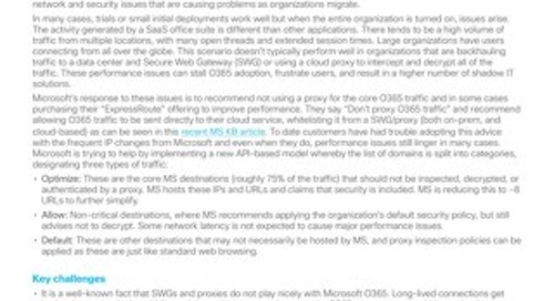 Umbrella: O365 Performance Use Case