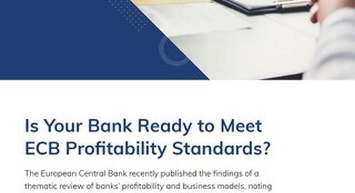 Meeting ECB Profitability Standards