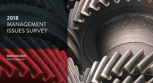 [Report] 2018 Management issues survey