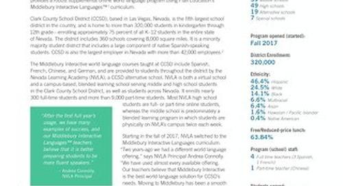 Case Study: Clark County School District