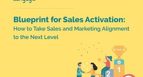 Marketing and Sales Activation: The Next Level of Alignment  |  Engagio