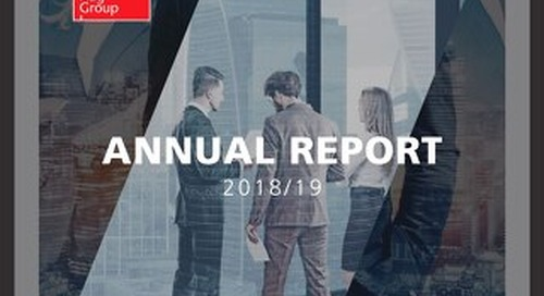 Our 2018/19 Annual Report