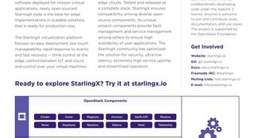 StarlingX Overview