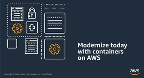 Containers on AWS eBook