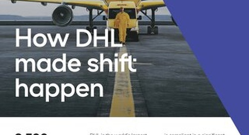 Why DHL, the world's largest courier, switched to Tradeshift